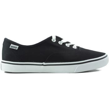 Schuhe Damen Sneaker Low MTNG MUSTANG CANVAS SCHWARZ