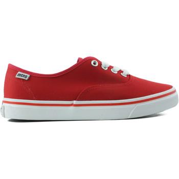 Schuhe Damen Sneaker Low MTNG MUSTANG CANVAS ROT