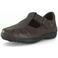 Schuhe Herren Derby-Schuhe Calzamedi Sandale  mens pied diabétique BRAUN