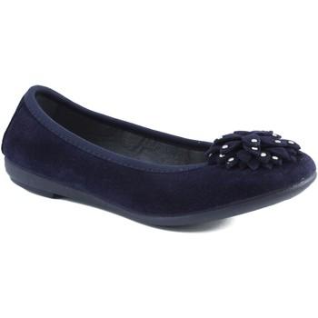 Schuhe Mädchen Ballerinas Vulladi Ballerina mit Gummi BLAU