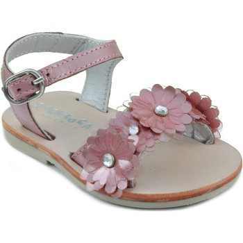 Schuhe Kinder Sandalen / Sandaletten Oca Loca OCA LOCA Lackleder Sandale PINK