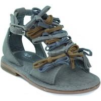 Schuhe Kinder Sandalen / Sandaletten Oca Loca OCA LOCA Sandale modernes Mädchen BRAUN
