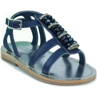 Schuhe Kinder Sandalen / Sandaletten Oca Loca OCA LOCA STRASS BLAU