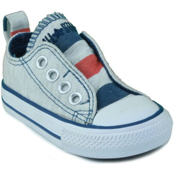 Schuhe Kinder Sneaker Low Converse AS SLIP OX BLAU