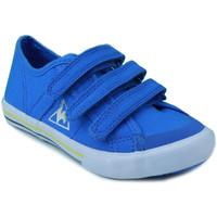 Schuhe Jungen Sneaker Low Le Coq Sportif SAINT MALO PS STRAP BLAU