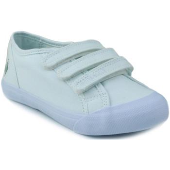 Schuhe Kinder Sneaker Low Le Coq Sportif SAINT MALO PS STRAP WEIB