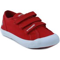 Schuhe Kinder Sneaker Low Le Coq Sportif SAINT MALO PS STRAP ROT