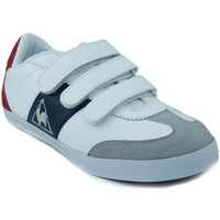 Schuhe Kinder Sneaker Low Le Coq Sportif MEXICO PS STRAP WEIB