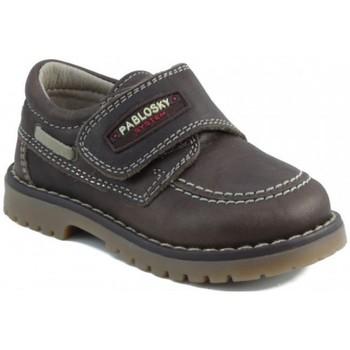 Schuhe Kinder Sneaker Low Pablosky TOMCAT NAUTISCH BRAUN