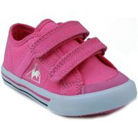 Schuhe Kinder Sneaker Low Le Coq Sportif  DEAUVILLE PINK
