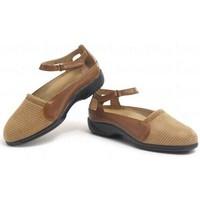 Schuhe Damen Ballerinas Calzamedi therapeutische BRAUN