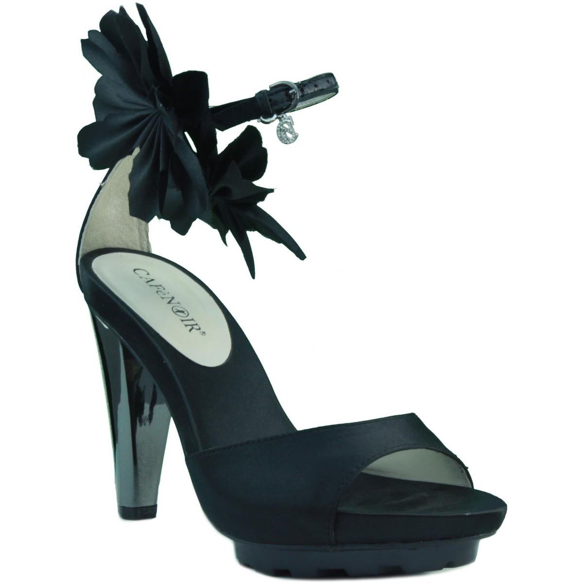 Café Noir Cafe Noir Heel Sandalen anziehen SCHWARZ - Schuhe Sandalen / Sandaletten Damen 120,75 €
