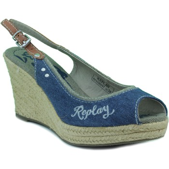 Schuhe Damen Sandalen / Sandaletten Replay fünfte Frau MARINE