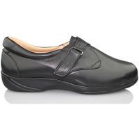 Schuhe Damen Slipper Calzamedi elastische Klinge SCHWARZ