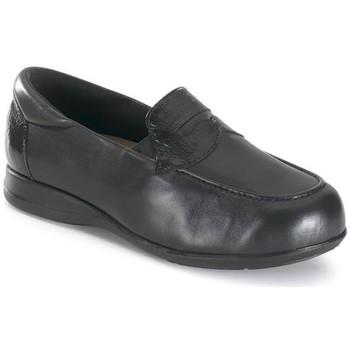 Schuhe Damen Slipper Calzamedi komfortable extra breiten unisex BLACK