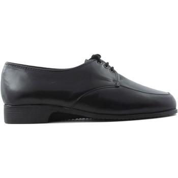 Schuhe Damen Richelieu Drucker Calzapedic bequemen Schuh Kabel SCHWARZ