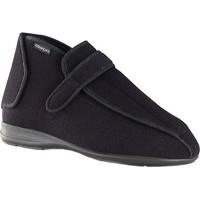 Schuhe Damen Hausschuhe Calzamedi postoperativen SCHWARZ