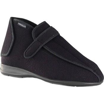 Schuhe Damen Hausschuhe Calzamedi postoperativen unisex SCHWARZ