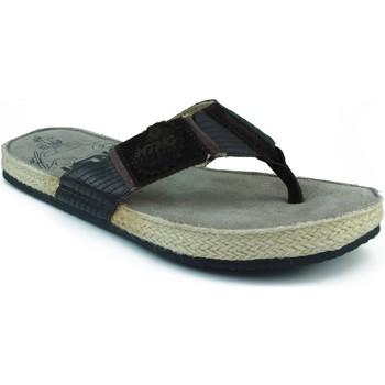 Schuhe Herren Zehensandalen MTNG MUSTANG bequeme Sandalen BRAUN
