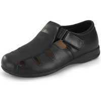 Schuhe Sandalen / Sandaletten Calzamedi breite unisex Sandale 15 SCHWARZ
