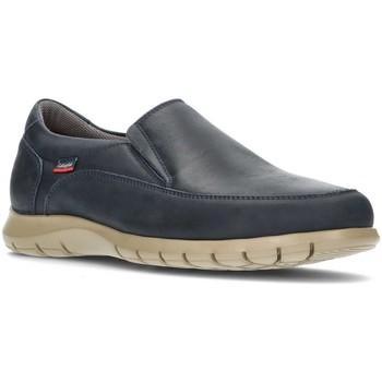 Schuhe Herren Slipper CallagHan EXTRACOMFORT BLAU