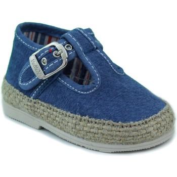 Schuhe Kinder Babyschuhe Vulladi CANVAS BLAU
