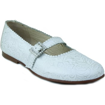 Schuhe Mädchen Ballerinas Rizitos Ringlet Mädchen Kommunion Hautschuhe WEIB