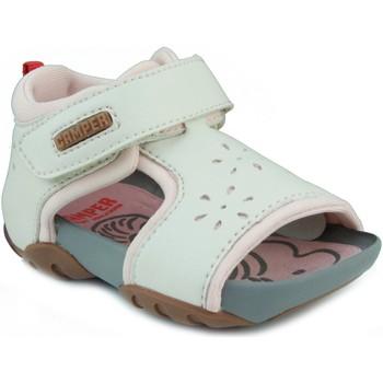 Schuhe Mädchen Sandalen / Sandaletten Camper CAMPER JEDI PAU EGGS INOX HONEY WEIB