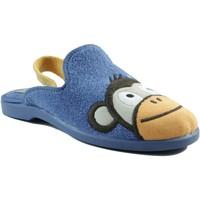 Schuhe Kinder Hausschuhe Vulladi inländischen Gummi Jungen BLAU