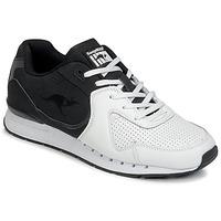 Schuhe Herren Sneaker Low Kangaroos COIL-R2 TONE Weiss / Schwarz