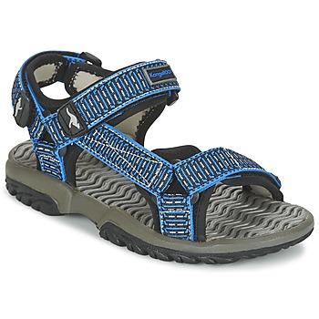Schuhe Jungen Sandalen / Sandaletten Kangaroos KS 22 Blau