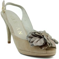 Schuhe Damen Sandalen / Sandaletten Marian Nubukleder Kleidschuh BRAUN