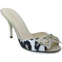 Schuhe Damen Sandalen / Sandaletten Guess Leopardschuhabsatz BEIGE