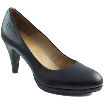 Schuhe Damen Pumps Estefania Marco GAUCHO SCHWARZ