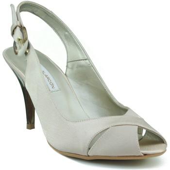 Schuhe Damen Sandalen / Sandaletten Angel Alarcon Parteischuh elegante Frau BEIGE