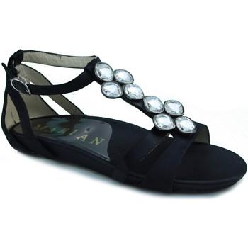 Schuhe Damen Sandalen / Sandaletten Marian Kleid Sandale SCHWARZ