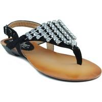 Schuhe Damen Sandalen / Sandaletten MTNG MUSTANG CAMINHA SCHWARZ