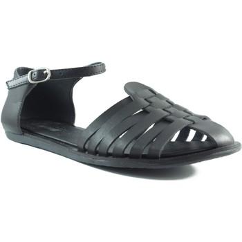 Schuhe Damen Sandalen / Sandaletten MTNG MUSTANG VACHE COFRI SCHWARZ