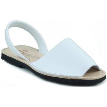 Schuhe Pantoffel Arantxa Menorca Haut WEIB