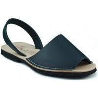 Schuhe Pantoffel Arantxa Menorca Haut MARINE