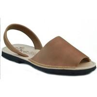 Schuhe Pantoffel Arantxa Menorca Haut BRAUN