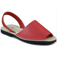 Schuhe Pantoffel Arantxa Menorca Haut ROT