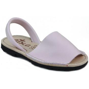 Schuhe Pantoffel Arantxa Menorca Haut PINK