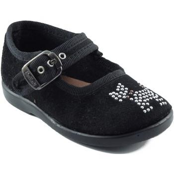 Schuhe Mädchen Ballerinas Vulladi Dancers  Hund Mädchen SCHWARZ