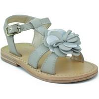Schuhe Mädchen Sandalen / Sandaletten Oca Loca OCA LOCA VALENCIA AD FLOR GRAU