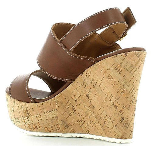 Grace Shoes 15010C Keilsandalen Frauen Braun Braun