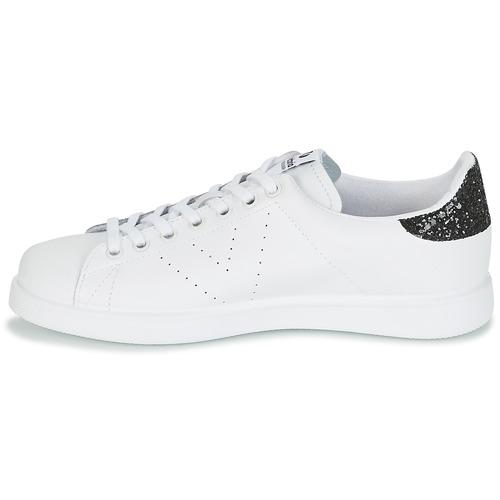 Victoria DEPORTIVO BASKET PIEL Weiss / Schwarz 57,99  Schuhe TurnschuheLow Damen 57,99 Schwarz 74647d
