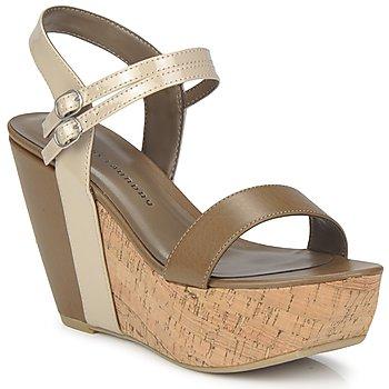Schuhe Damen Sandalen / Sandaletten Chinese Laundry GO GETTER Maulwurf / Beige