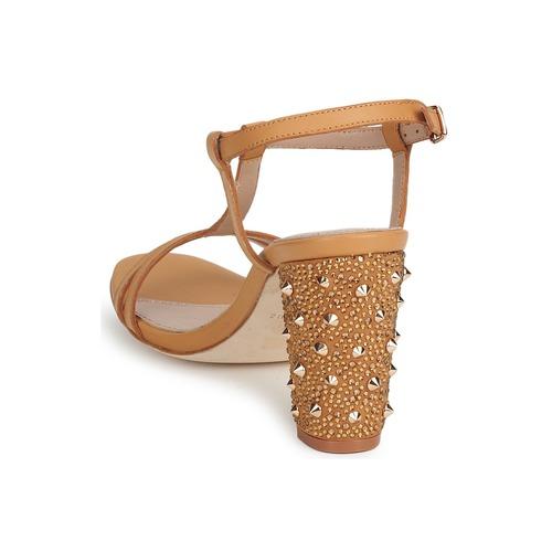 Lola Cruz Cruz Cruz STUDDED Beige  Schuhe Pumps Damen 8ded2c