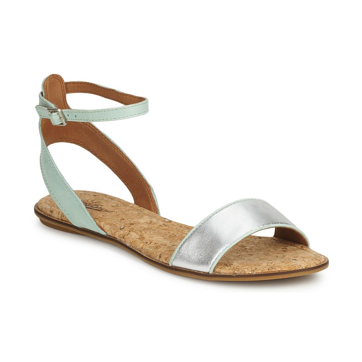 Lucky Brand COVELA Schwarz /indian magente / Silber - Kostenloser Versand bei Spartoode ! - Schuhe Sandalen / Sandaletten Damen 90,99 €